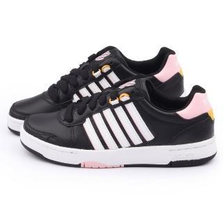【K-SWISS】女款 JACKSON 時尚休閒鞋(93360-085-黑)