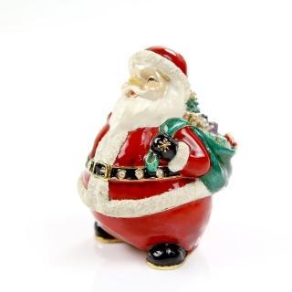 【三卡寶精品】聖誕老公公背禮物袋(珠寶盒)