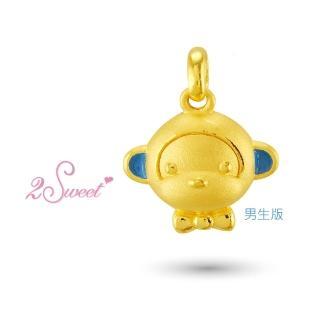 【甜蜜約定2sweet-PE-6262】純金金飾猴年金墬-約重0.61錢(猴年)
