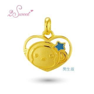 【甜蜜約定2sweet-PE-6263】純金金飾猴年金墬-約重0.53錢(猴年)