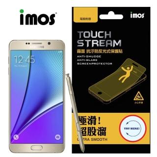 【iMOS Touch Stream】Samsung Note 5 螢幕保護貼(霧面)
