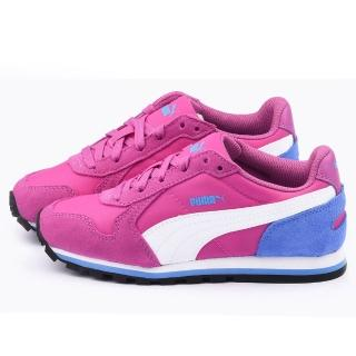 【PUMA】大童 輕量透氣運動鞋(358770-07-紫)
