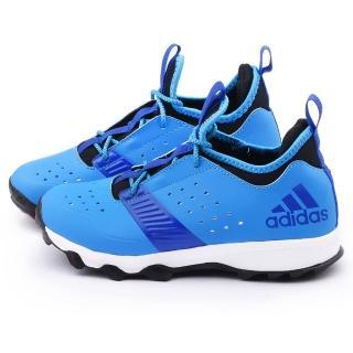 【Adidas】大童 時尚限量款運動跑鞋(B23827-藍)