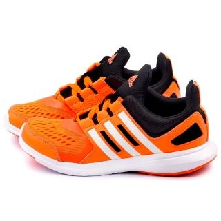 【Adidas】大童 輕量透氣運動鞋(B25479-橘)