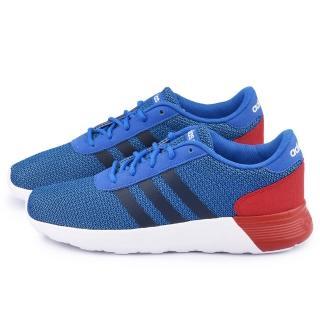 【Adidas】男款 Lite Racer 輕量慢跑鞋(F98303-藍紅)