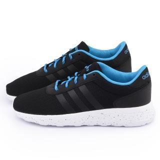 【Adidas】男款 Lite Racer 經典復古鞋(F98306-黑)