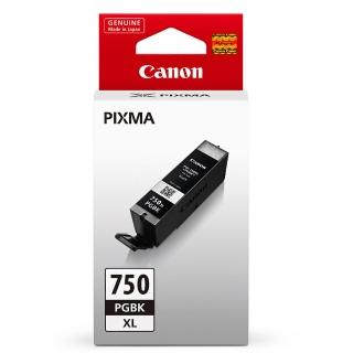 【CANON】PGI-750XL-BK 原廠黑色高容量XL墨水匣(速達)