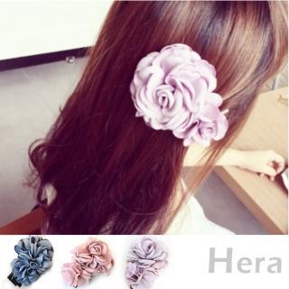 【Hera】赫拉  唯美大山茶花朵髮夾/邊夾(3色)