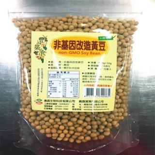 【義昌生技】非基因改良黃豆/600g(黃豆)