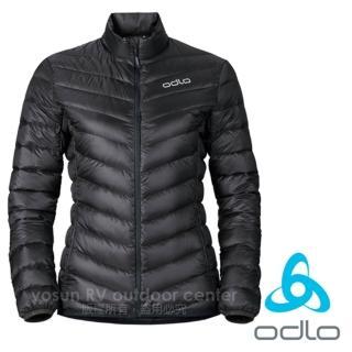 【瑞士 ODLO】女新款7折 超輕量防潑水防風保暖羽絨外套/夾克(石墨灰 526291)