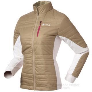 【瑞士 ODLO】Primaloft 女輕量透氣雙面保暖外套.機能型風衣_非羽絨(524561 淺咖啡)