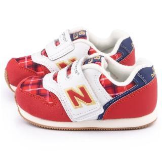 【NewBalance】小童 寬楦復古運動鞋(FS996CCI-紅)