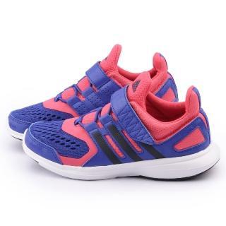 【Adidas】大童 輕量透氣運動跑鞋(S83010-桃紫)