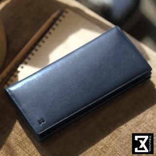 【74盎司】皮夾 Plain 平紋真皮長夾(N-466)