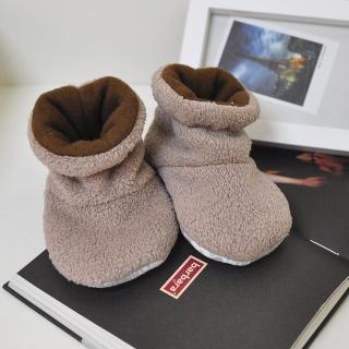 【MIT 台灣製造】珊瑚絨保暖小童靴 防滑學步鞋 室內鞋