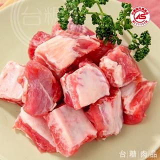【台糖優質肉品】台糖豬小排肉3kg量販包(CAS認證健康豬肉)
