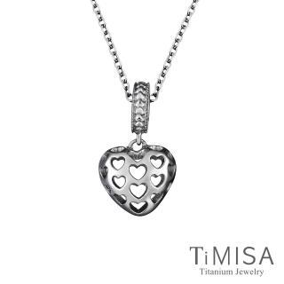【TiMISA】怦然心動 純鈦串飾 項鍊(E)