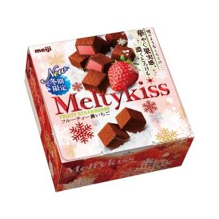 【明治】Meltykiss巧克力-草莓口味56g(巧克力)
