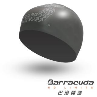 【美國巴洛酷達Barracuda】大B系列3D立體設計款高質感矽膠泳帽(泳帽、矽膠、環保、安全、耐用)