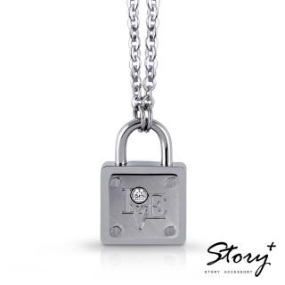 【STORY ACCESSORY】愛的生存之道-心鎖項鍊-女款
