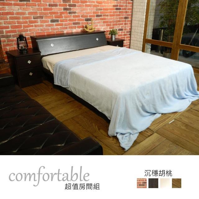 【時尚屋】喬伊絲床箱型3件房間組-床箱+掀床+床頭櫃1個-四色可選(1WG5-13W)