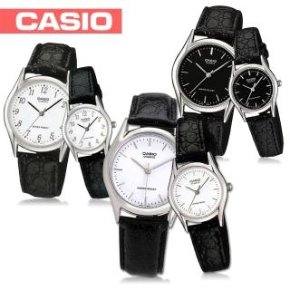 【CASIO 卡西歐】送禮首選-時尚簡約甜蜜情侶對錶(MTP-1094E+LTP-1094E)
