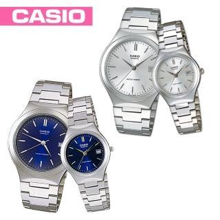 【CASIO 卡西歐】送禮首選-甜蜜浪漫情侶對錶(MTP-1170A+LTP-1170A)