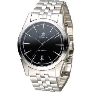 【漢米爾頓 Hamilton】Timeless Classic 自由精神機械錶(H42415031)