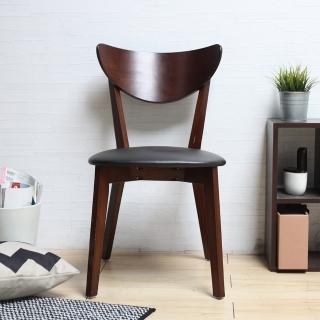 【H&D】LAVIN 日式木餐椅-白、綠、胡桃 三色可選(H&D 白 綠 椅 胡桃)