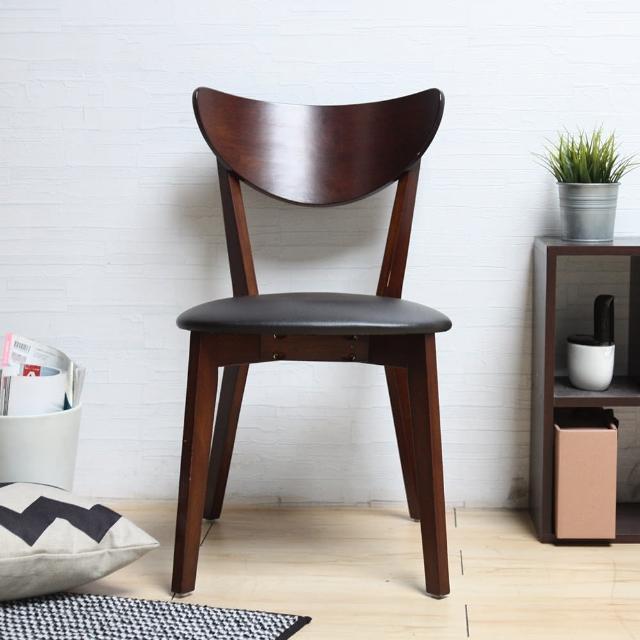 【H&D】Joeco僑可日式簡約木作餐椅-3色(單椅)