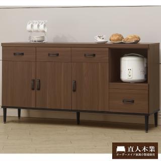 【日本直人木業】Industry161CM簡約生活廚櫃