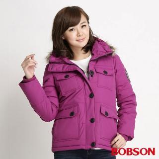 【BOBSON】女款多口袋絲棉外套(34107-62)