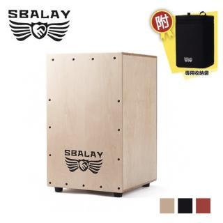 【SBALAY】SCJ-2 RD 紅色木箱鼓附贈袋子(木箱鼓)