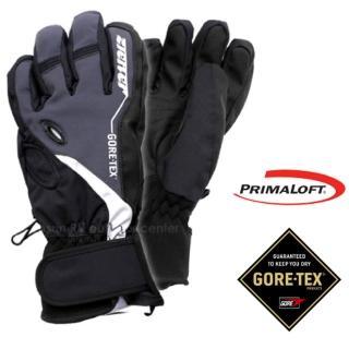 【德國 ZIENER】新款 探險家 Gore-Tex + Primaloft 防水透氣手套(灰 AR-62)
