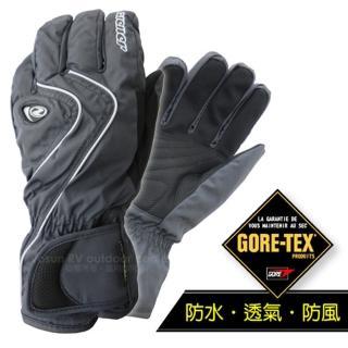 【德國 ZIENER】最新超薄 探險家 Gore-Tex 耐磨防水透氣手套.防風保暖(灰 AR-42)