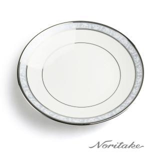 【NORITAKE】花舞春風銀邊深圓盤(23.5cm)