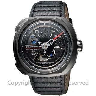 【SEVENFRIDAY】V3 設計師工藝自動上鍊機械錶-黑(V3)