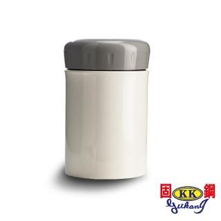 【固鋼】一體成型316不鏽鋼燜燒罐400mL-珍珠白(嬰幼兒專用)