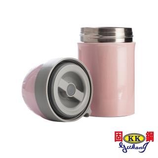 【固鋼】一體成型316不鏽鋼燜燒罐400mL-星光粉(嬰幼兒專用)  固鋼