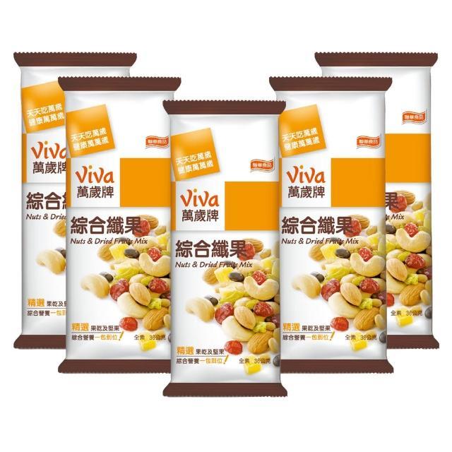 【萬歲牌】綜合纖果(36gx5包-盒)