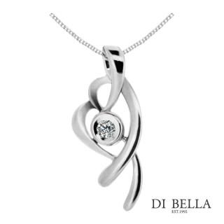 【DI BELLA】幻彩流星天然鑽石墜鍊(3分)