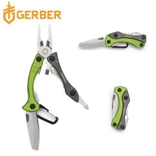 【Gerber】Crucial Tool 多功能輕量工具鉗(綠色30-000140 / 31-000238)