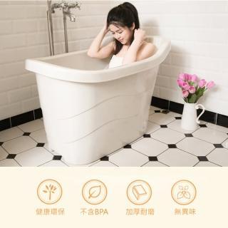 【生活King】風呂健康泡澡桶(186公升)
