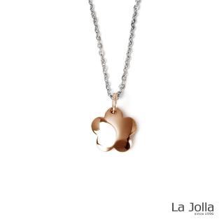 【La Jolla】桃花朵朵 純鈦墜項鍊(玫瑰金)