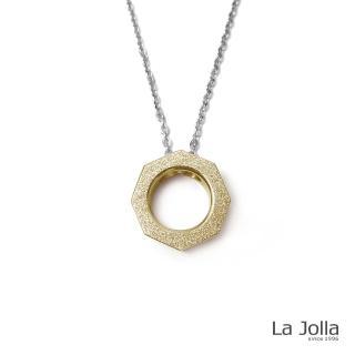 【La Jolla】百變幾何 純鈦墜項鍊(雙色)