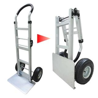 【COLOR】鋁製重型摺疊推車(雙折疊設計)