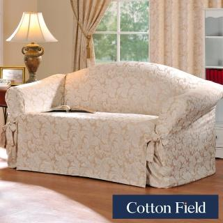 【棉花田】艾伯特提花單人沙發便利套