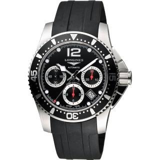 【LONGINES】深海征服者300米潛水機械錶(L37444562)