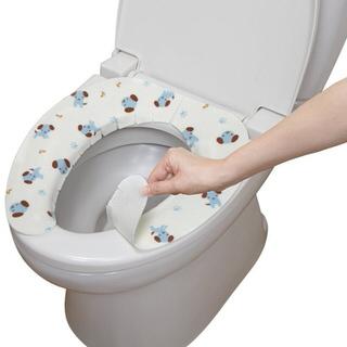 【日本製造SANKO】兒茶素抗菌防臭馬桶座墊貼(小藍狗)