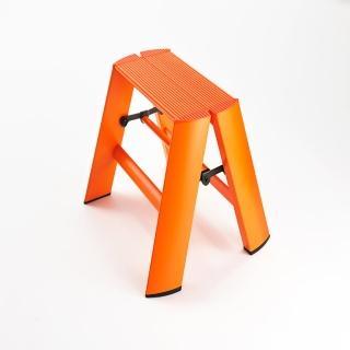 【長谷川Hasegawa設計好梯Lucano設計傢俱梯】1階24cm橘色(ML系列ML-1OR)